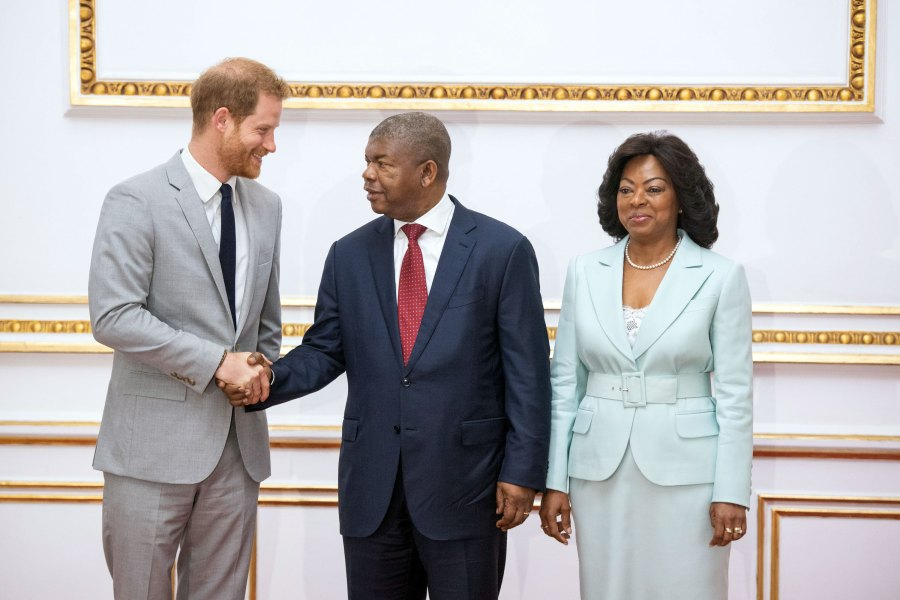 Harry and Meghan Africa Royal Tour Angola Day 2