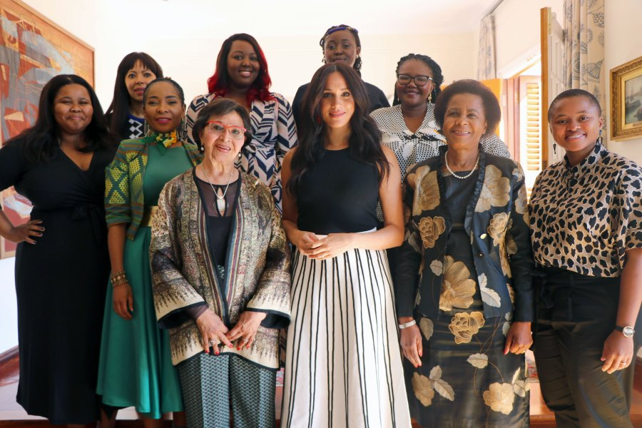 Harry and Meghan Africa Royal Tour Cape Town South African women leaders