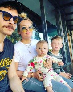 Hilary Duff's Kids Watch The Lizzie McGuire Movie