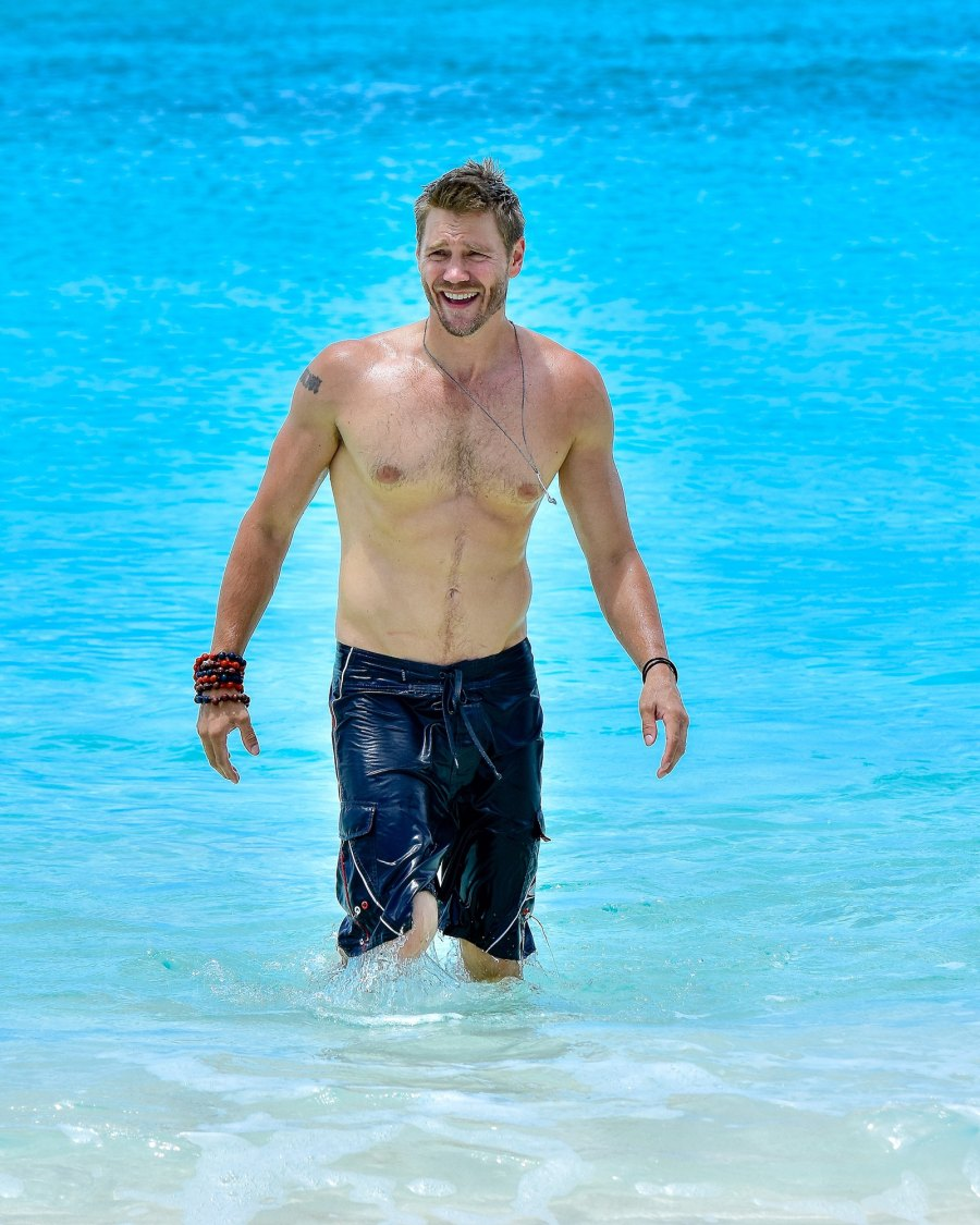 Hunks in Trunks Chad Michael Murray