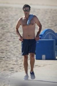 Hunks in Trunks Shirtless Luke Wilson