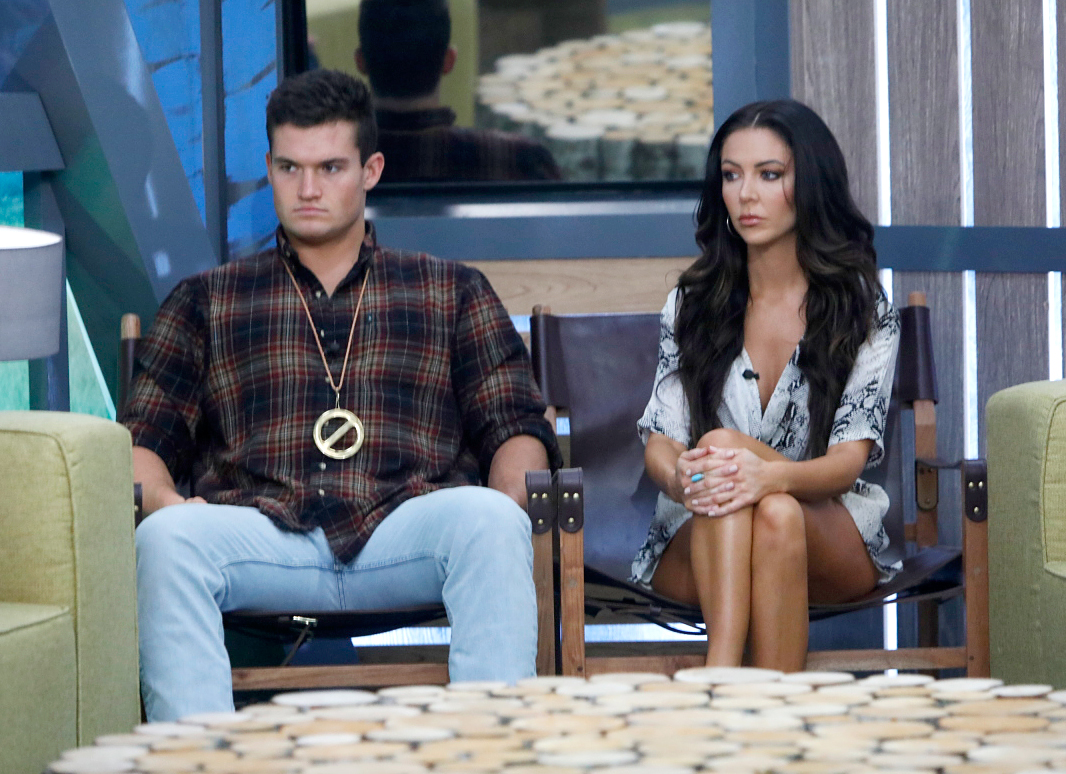 Jackson Michie and Holly Allen on Big Brother