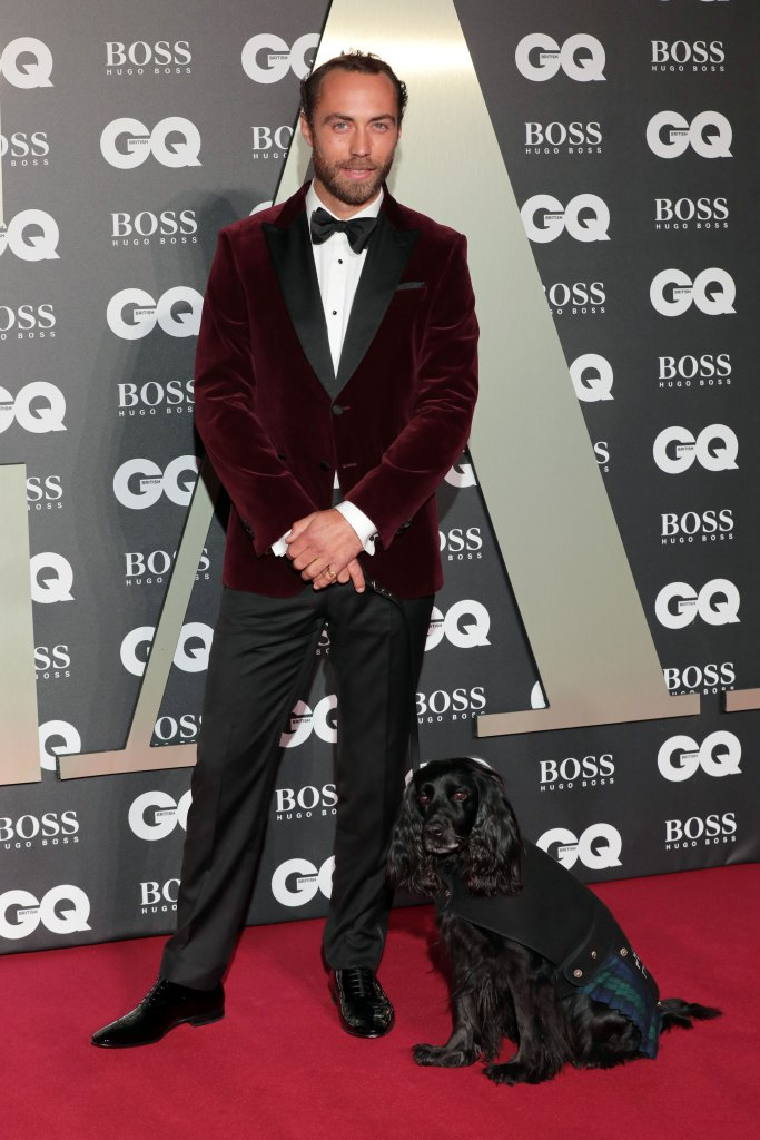 James Middleton Brings His Therapy Dog as His Date to the GQ Men of the Year Awards