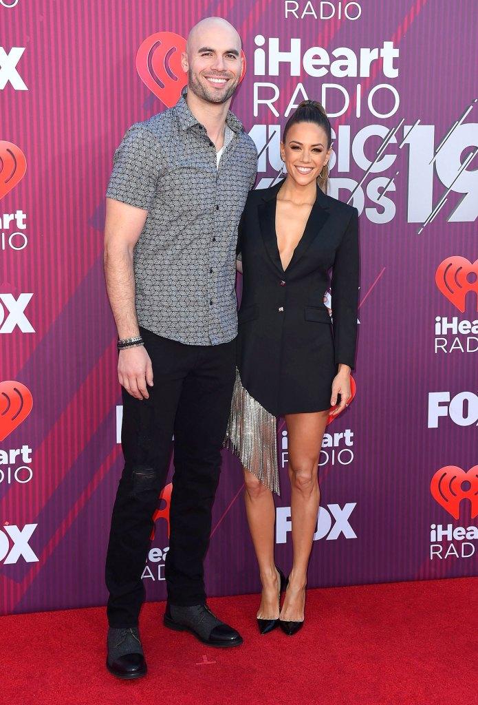 Mike Caussin and Jana Kramer 2019 iHeartRadio Music Awards