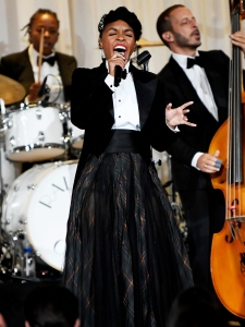 Janelle Monae Performs at the Ralph Lauren Show September 7, 2019