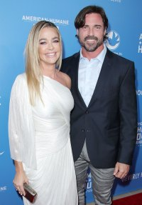 Denise Richards White Dress and Aaron Phypers Sports Jacket January 2018