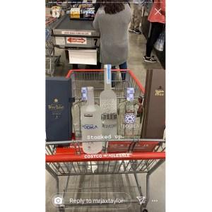 Jax Taylor Buys Plenty of Liquor During Costco Run