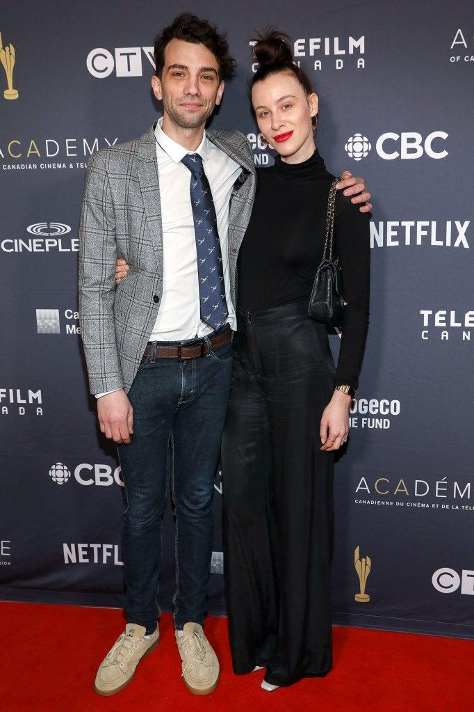 Jay Baruchel and Rebecca Dunham Marry
