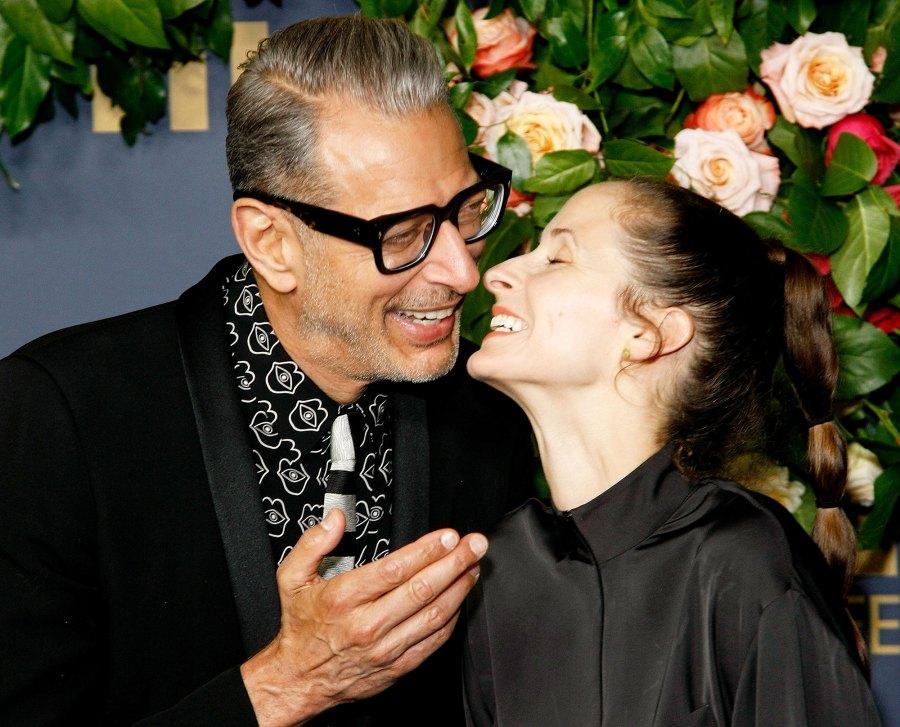 Jeff Goldblum and Emilie Livingston Walt Disney Emmys 2019 After Party