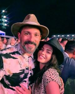Jenna Dewan With Boyfriend Steve Kazee