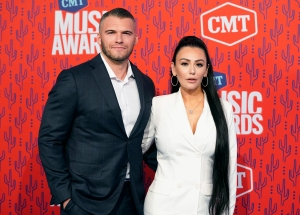Jenni 'JWoww' Farley and Boyfriend Zack Clayton Carpinello Take Her Kids to WWE Raw