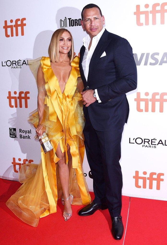 Jennifer Lopez and Alex Rodriguez Good Morning America