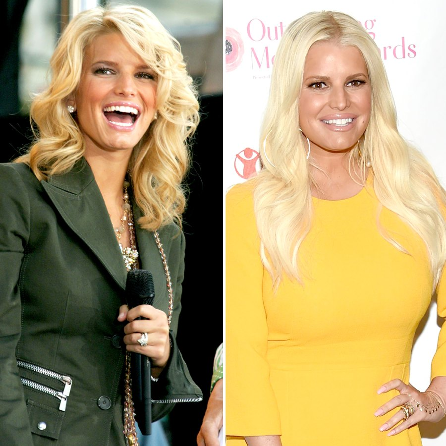 Jessica-Simpson-Through-the-Years
