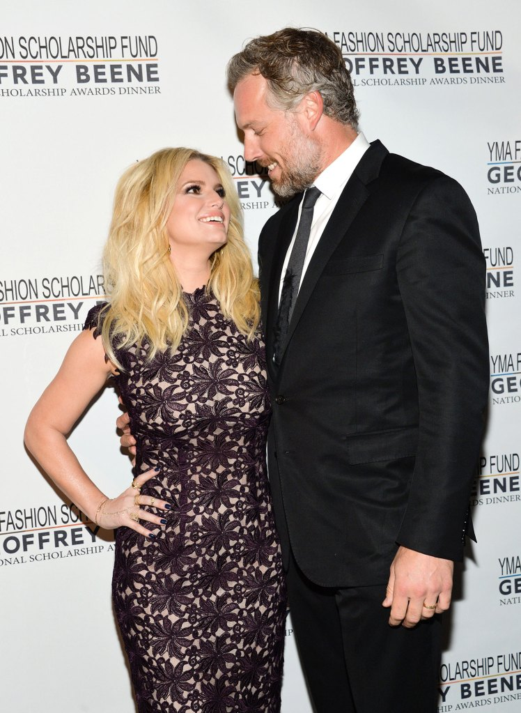 Jessica Simpson and Eric Johnson Birthday