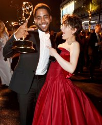 Jharrel Jerome and Joey King Governors Ball Emmys 2019 After Party