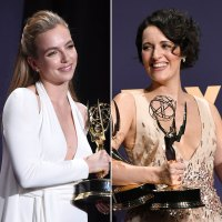 Jodie Comer and Phoebe Waller Bridge What You Didn't See on TV Gallery Emmys 2019
