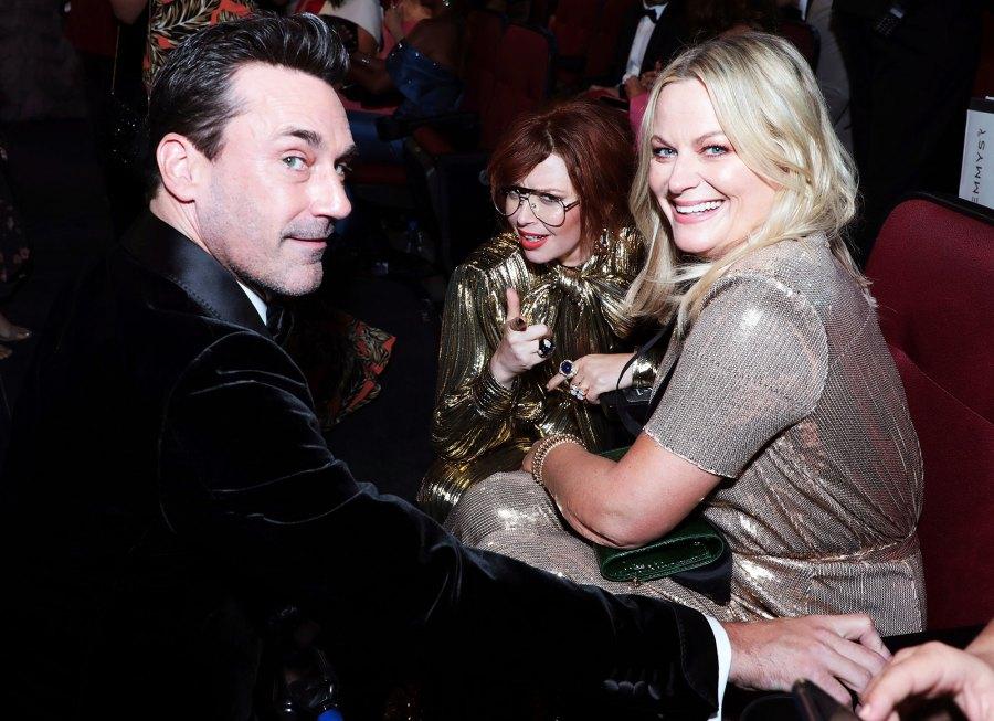 Jon Hamm Natasha Lyonne and Amy Poehler Inside Emmys 2019