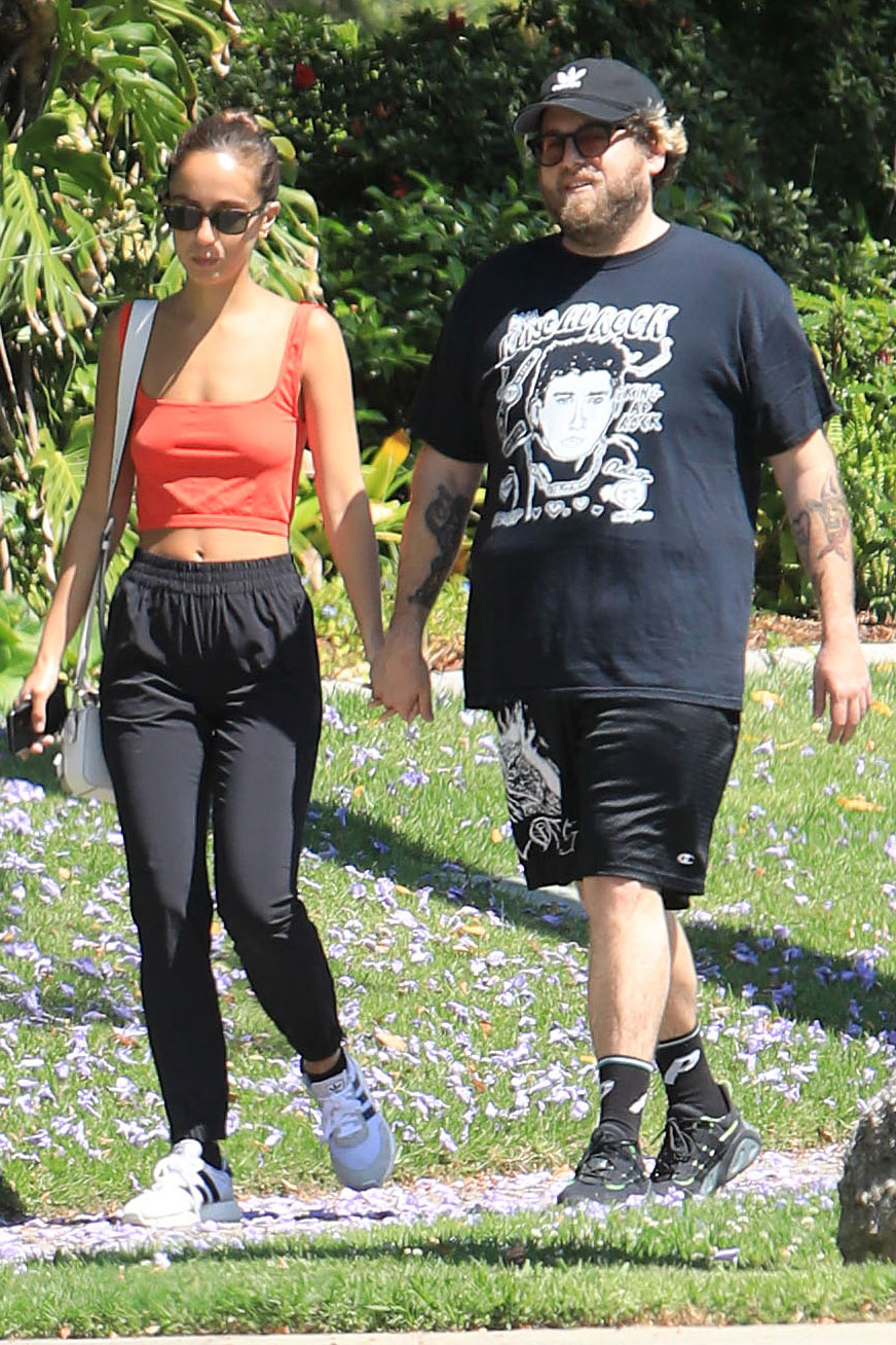 Jonah Hill and Girlfriend Gianna Santos Are Engaged After a Year of Dating thumbnail