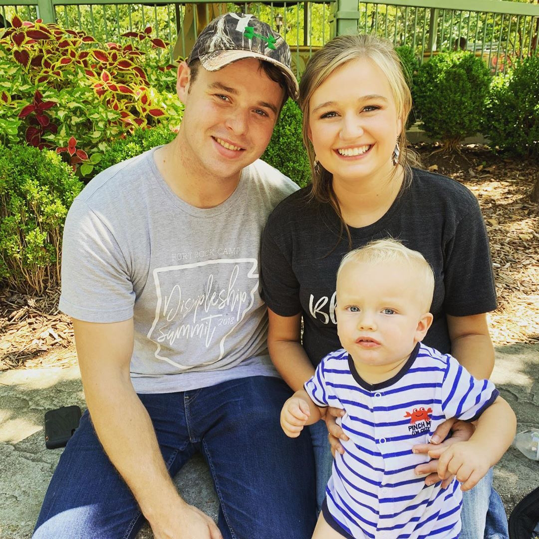 Joseph and Kendra Duggar With Son Garrett