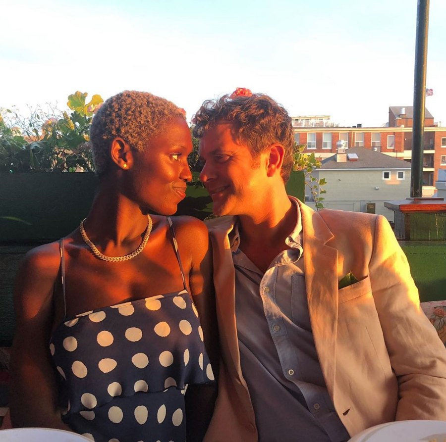 Joshua Jackson's Girlfriend Jodie Turner-Smith Posts Pics of Them in Bed Together