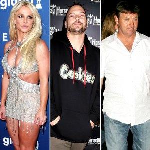 Britney Spears New Conservator After Kevin Federline Files Restraining Order Against Dad Jamie