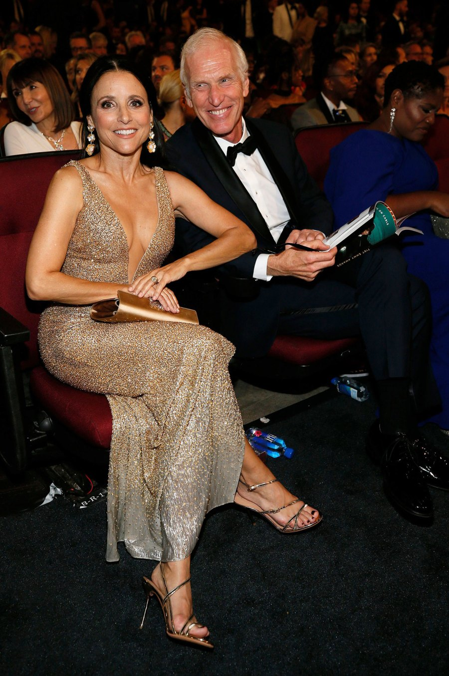 Julia Louis-Dreyfus, Brad Hall What You Didn't See on TV Gallery Emmys 2019