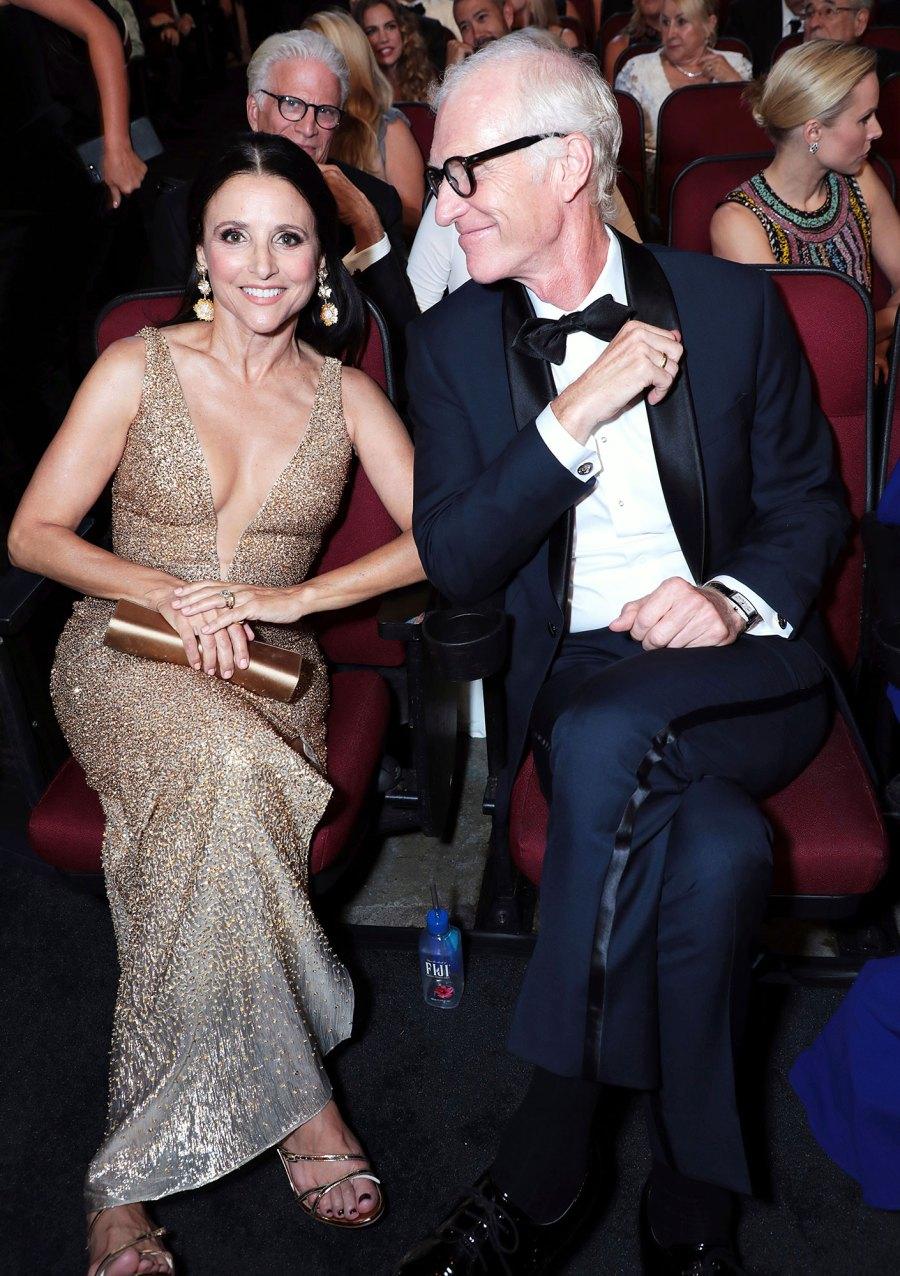 Julia Louis-Dreyfus and Brad Hall Inside Emmys 2019