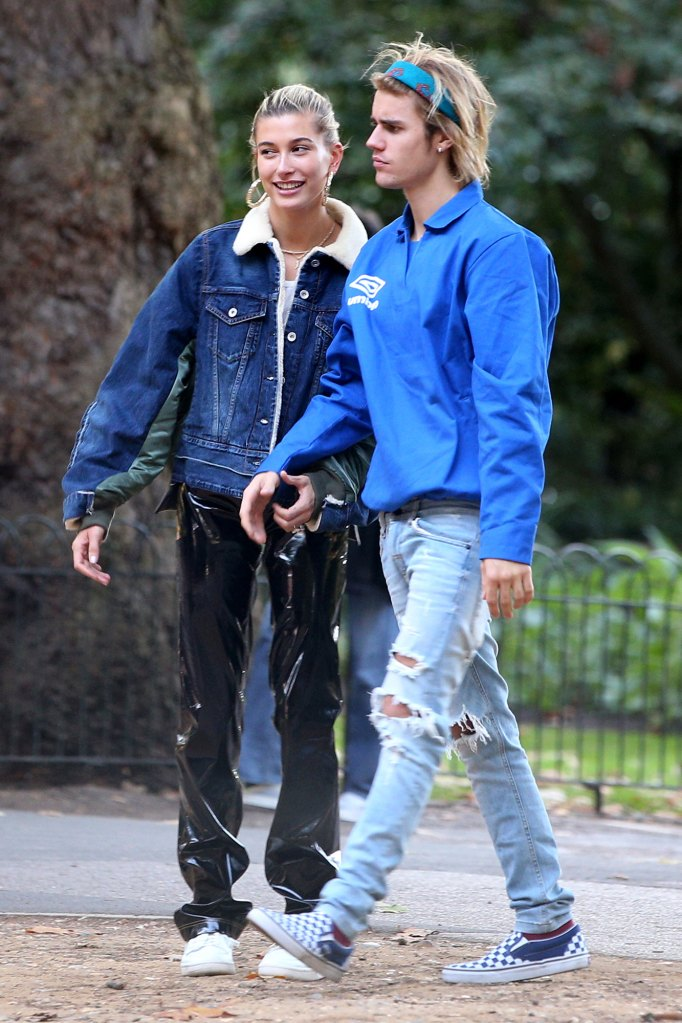 Justin Bieber and Hailey Baldwin Cats and Dog