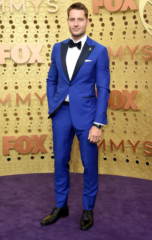 Justin Hartley Parenting Fails Emmys 2019