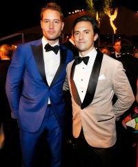 Justin Hartley and Milo Ventimiglia Governors Ball Emmys 2019 After Party