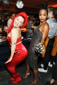 Justina Valentine and Rachel Lindsay Us Weekly Most Stylish Party