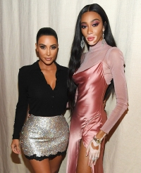 Winnie Harlow and Kim Kardashian's KKW Beauty Launch Party Caps Off NYFW With a Bang