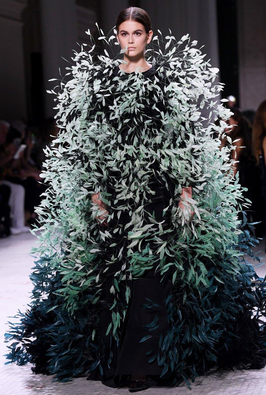 Kaia Gerber Runway Looks - Givenchy Fall-Winter 2019