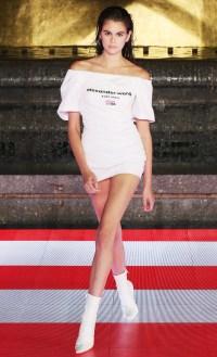 Kaia Gerber Runway Looks - Alexander Wang Collection 1 2020