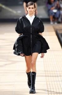 Kaia Gerber Runway Looks - Longchamp Spring-Summer 2020
