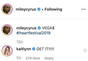 Kaitlynn Carter Leaves Sweet Comment on Miley Cyrus' Instagram After Split-2