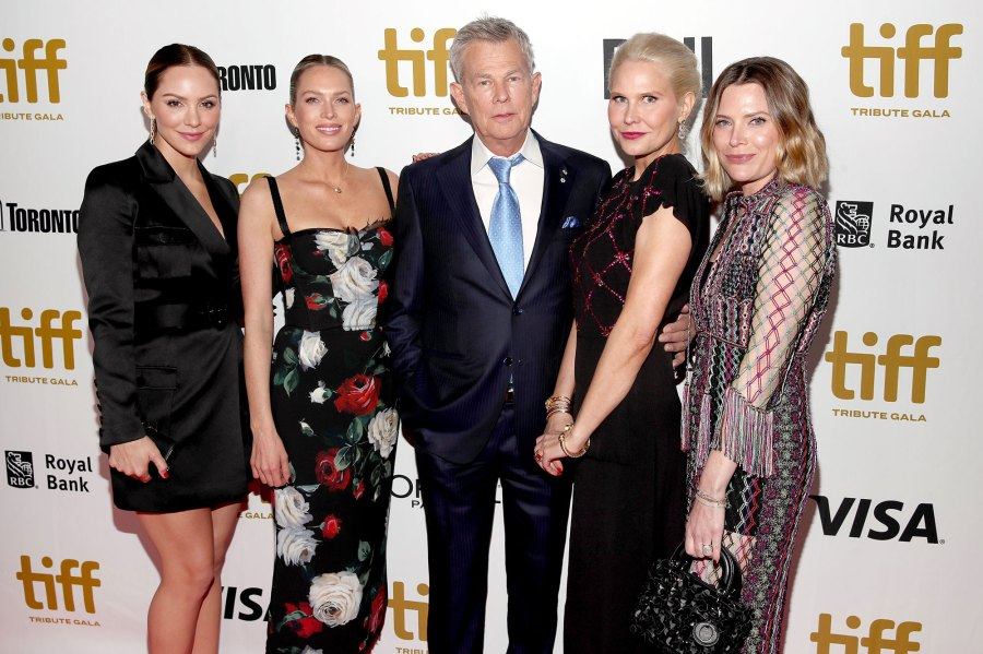 Katharine McPhee, Erin Foster, David Foster, Amy Foster and Jordan Foster 44th Annual Toronto International Film Festival
