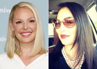 Katherine Heigl Hair Change Blonde to Brunette