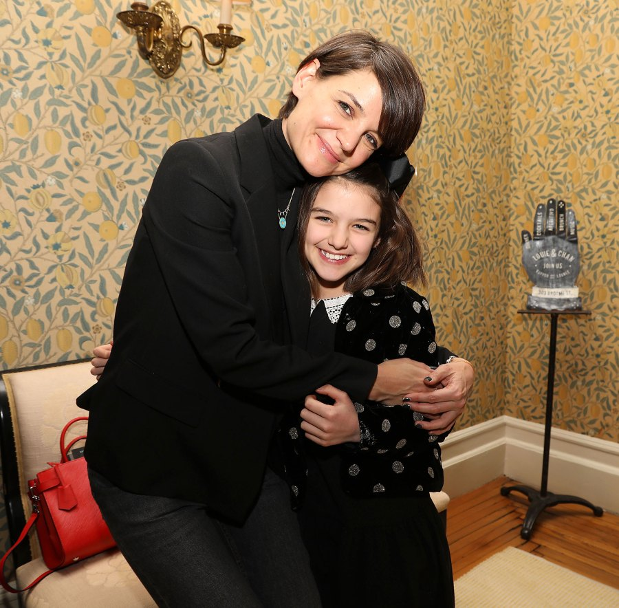 Katie Holmes and Suri Cruise Daughters Day