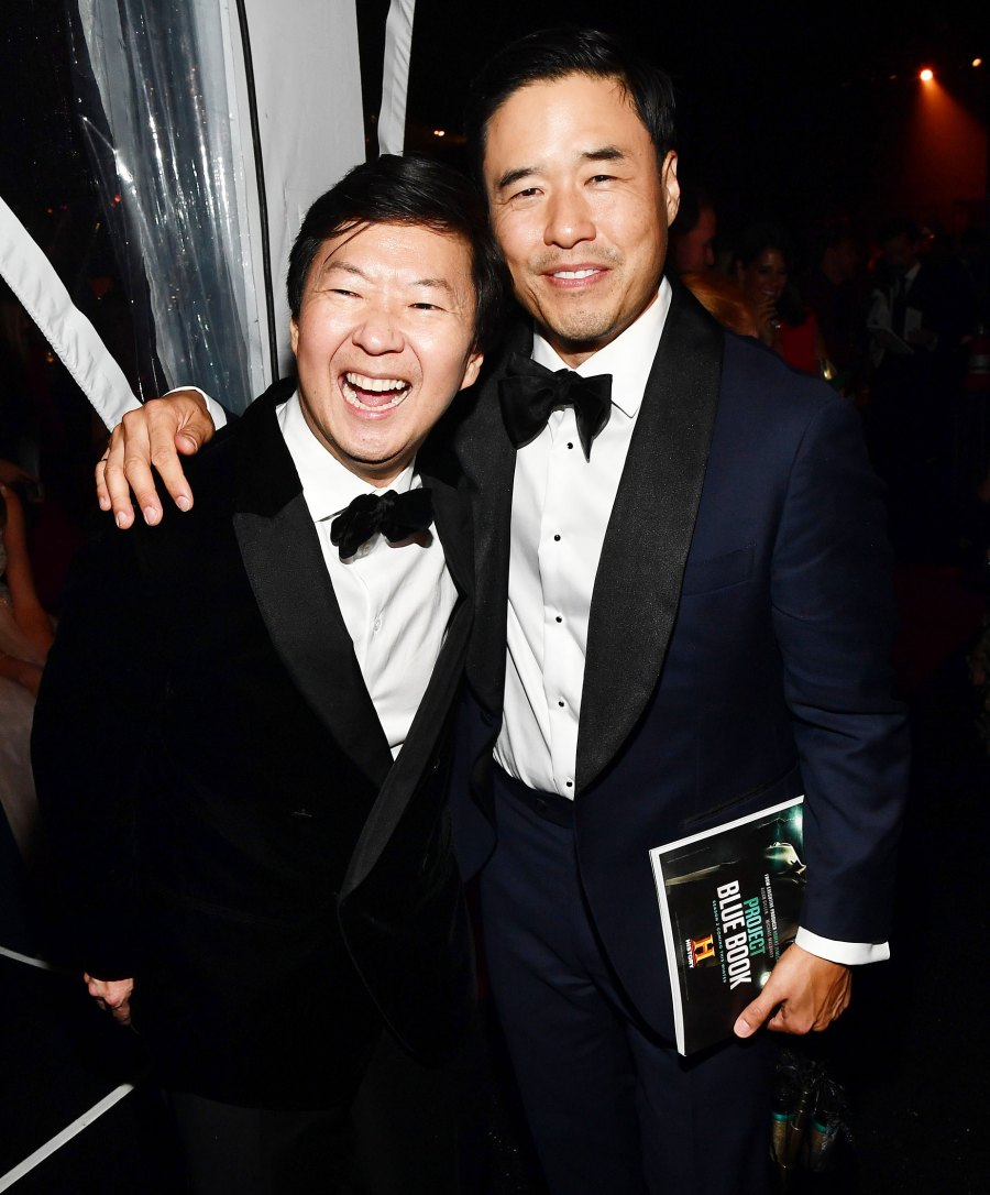 Ken Jeong and Randall Park Governors Ball Emmys 2019 After Party