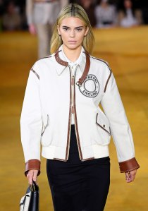 Kendall Jenner Goes Blonde for Burberry Spring Summer 2020 Show