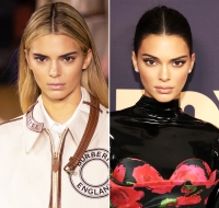 Kendall Jenner Hair Change Blonde to Brunette