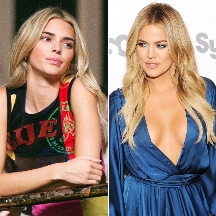 Kendall Jenner Hilariously Trolls Khloe Kardashian for Saying They Look Alike With Blonde Hair
