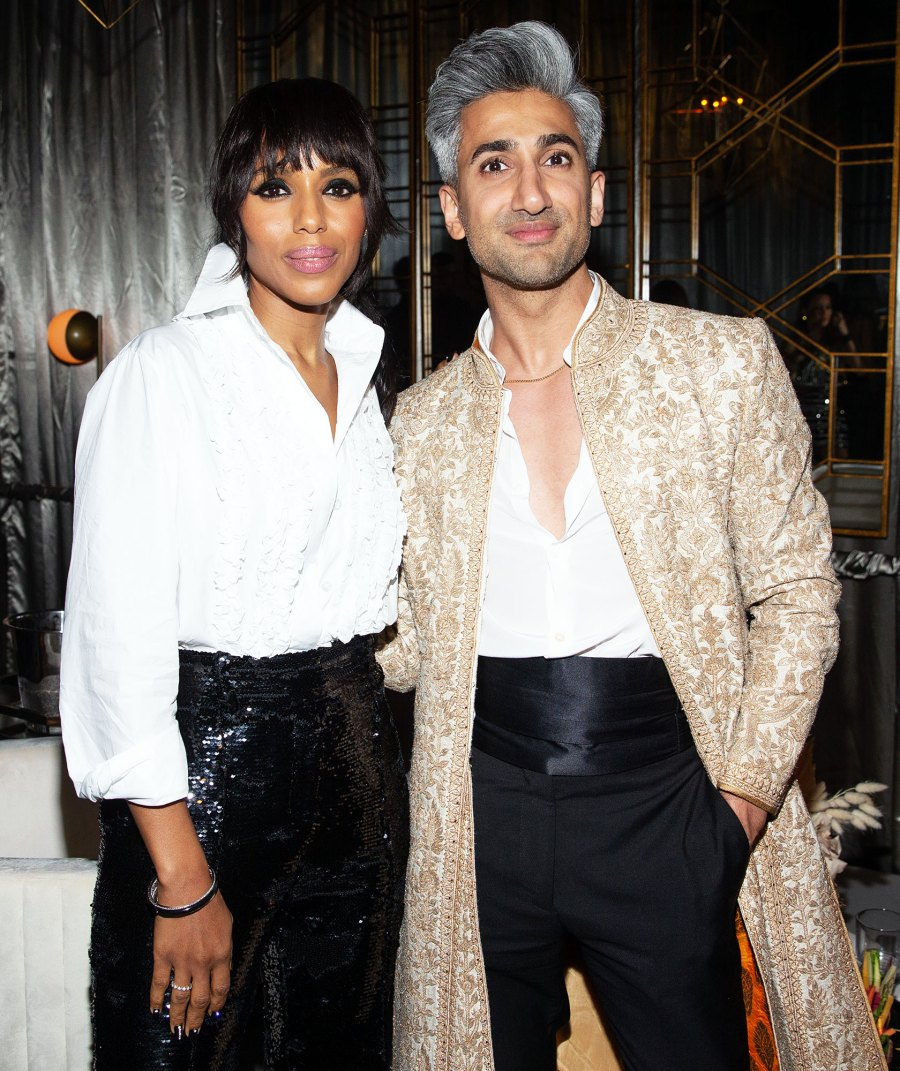 Kerry Washington and Tan France Netflix Emmys 2019 After Party