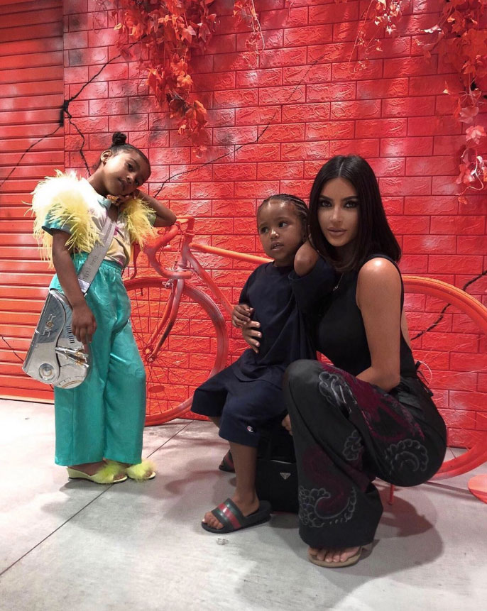 Kim Kardashian Admits North and Saint Fight Less After Baby Brother Psalm's Arrival