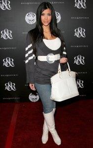 Kim Kardashian Throwback October 18, 2006