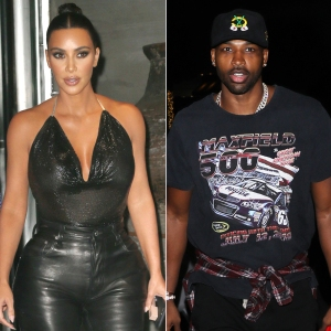 Kim Kardashian Has Dinner With Khloe Kardashian's Ex Tristan Thompson and Friends