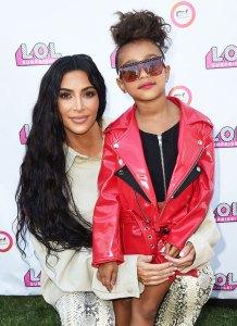Kim Kardashian and North West September 22, 2018