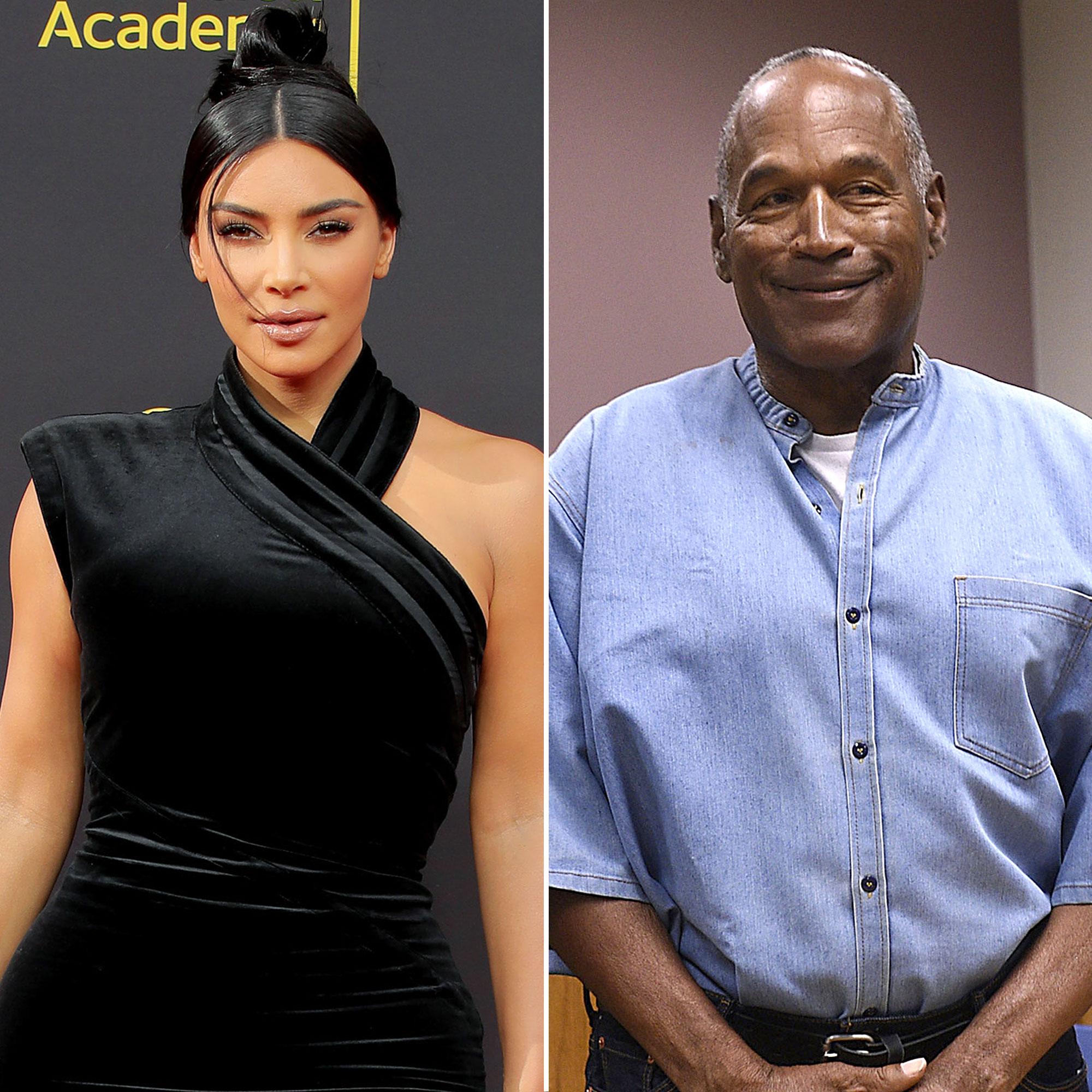 lowest price ff12f e2801 Kim Kardashian Recalls the Last Time She Spoke to O.J. Simpson