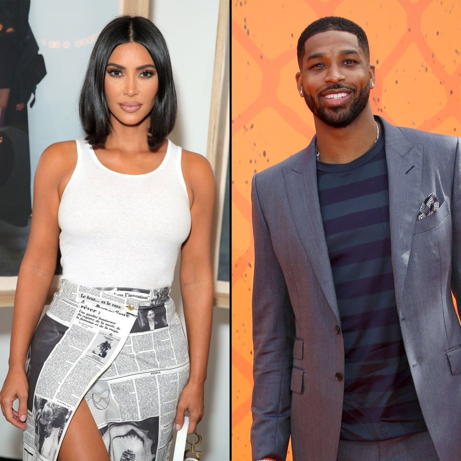 Kim Kardashian Says Tristan Thompson Is a Great Dad